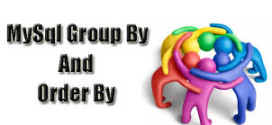 Difference between group by and order by in mysql